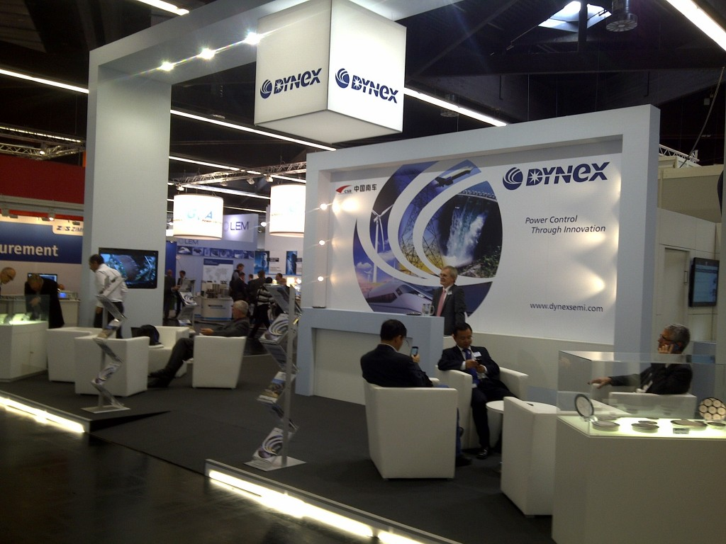 Exhibition panels for Dynex semiconductor