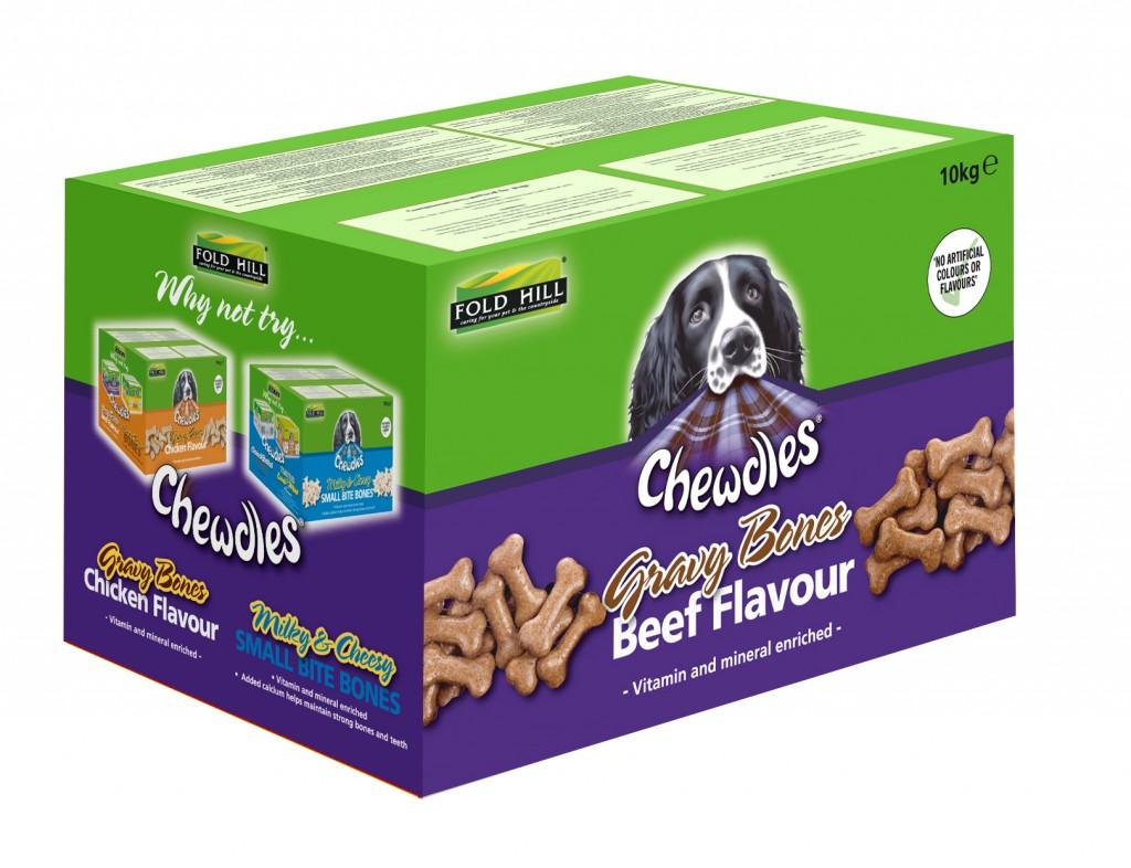 Chewdles Gravy Bones packaging